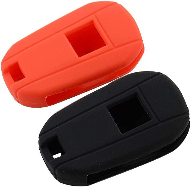 Auto Soft Protective Shell 3 Button Keychain Case Car Key Cover Remote