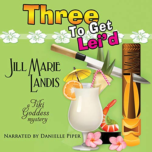 Three to Get Lei'd  audiobook cover art