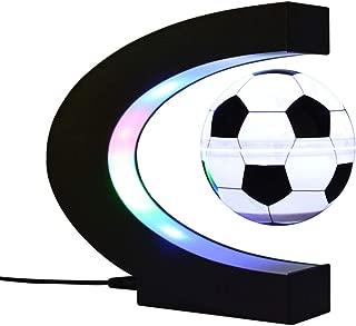 World Globe, C-Shaped Magnetic levitation Globe Ornaments, Suspended Luminescent Football, Creative Luminous Gifts, Crafts, Decoration