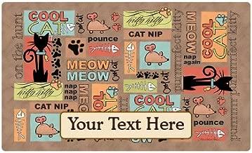 Drymate Custom Personalized Cat Place Mat - 12