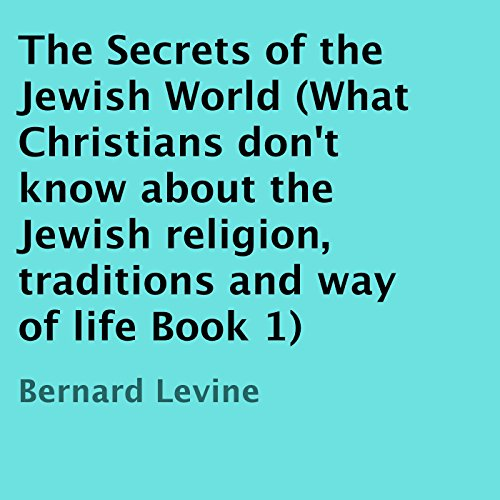 The Secrets of the Jewish World audiobook cover art