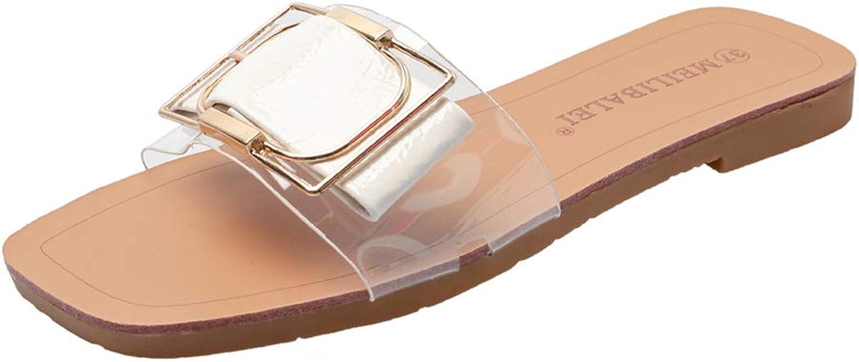 Super explosion Womens Casual Slide Sandals Open Toe Slip On Comfortable Flats