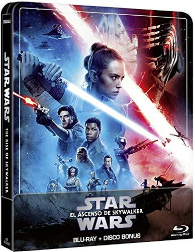Star Wars: El Ascenso de Skywalker - Steelbook 2 discos (Película + Extras) [Blu-ray]