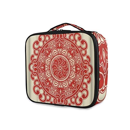 SUGARHE EIN rotes Papier Ausschnitt Muster der chinesischen Art auf dem cremefarbenen Hintergrund...