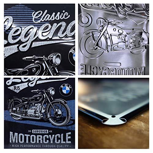 Nostalgic-Art Cartel de chapa retro BMW – Classic – Idea de regalo para los...