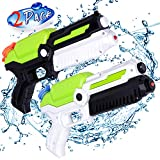 MOZOOSON 2 Pack Water Guns for Kids, Toys for 3 4 5 6 7 Years Old Boys Girls, Small Water Pistols Squirt Guns for...