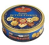 Jacobsens Danish Butter Cookies in 500 g Dose - Butterkekse Buttercookies Dänisches Gebäck