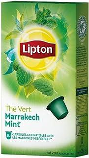 Lipton Thé Vert Marrakech Mint (30 capsules