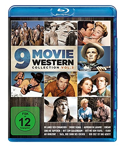 9 Movie Western Collection - Vol. 3 [Blu-ray]