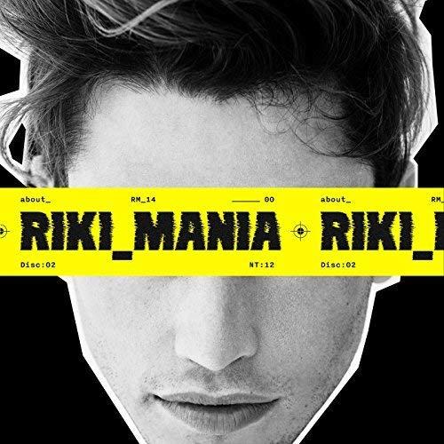 CD Mania Deluxe Edition Booklet Esclusive Stickers Riki Mani