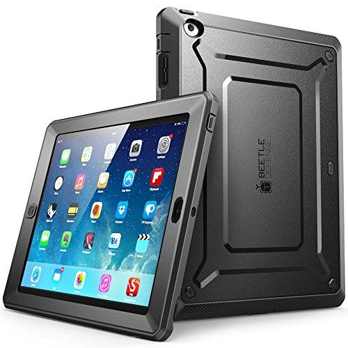 SUPCASE Apple iPad 4 / 3 / 2 Hülle 360 Grad Schutzhülle Bumper Case Rugged Cover [Unicorn Beetle PRO] mit eingebautem Displayschutz (Schwarz)