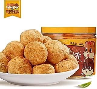 新品【Three Squirrels 三只松鼠_山核桃小酥酥200g】零食特产糕点点心山核桃仁酥