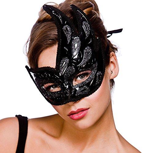 Livorno Eyemask - Black / Black