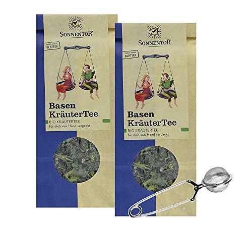 Sonnentor: 100% bio Basen Ausgleich - Kräutertee (je 50g) 2er Pack - Teeset AT-BIO-301