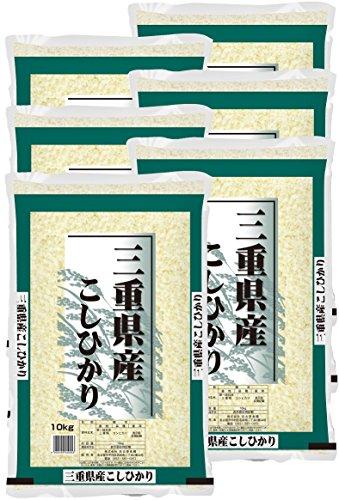 精米 30キロ 三重県産 白米 コシヒカリ 5kg×6袋 令和2年産 2個口 名古屋食糧