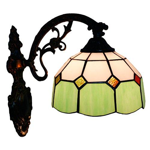 Odziezet Lampade da Parete Tiffany Lamp Vintage Mini Luce a Muro Illuminazione per Interni e Esterni Europea