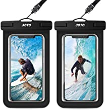 JOTO Universal Waterproof Pouch, IPX8 Waterproof Cellphone Dry Bag Underwater Case for iPhone 12 Pro Max 11 Pro Max Xs Max XR X 8 7 6S, Galaxy S20 Ultra S10 Note10 9 up to 7