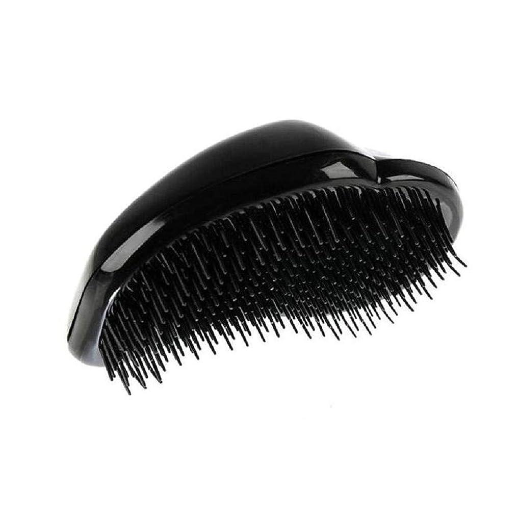 実施する男振り向く1st market 黒のプラスチック製の髪の櫛理髪の櫛の女性のエアバッグの櫛のマッサージの櫛のヘアブラシ帯電防止デタングルの櫛パーフェクト軽量ポケットサイズ1ピース耐久性と便利