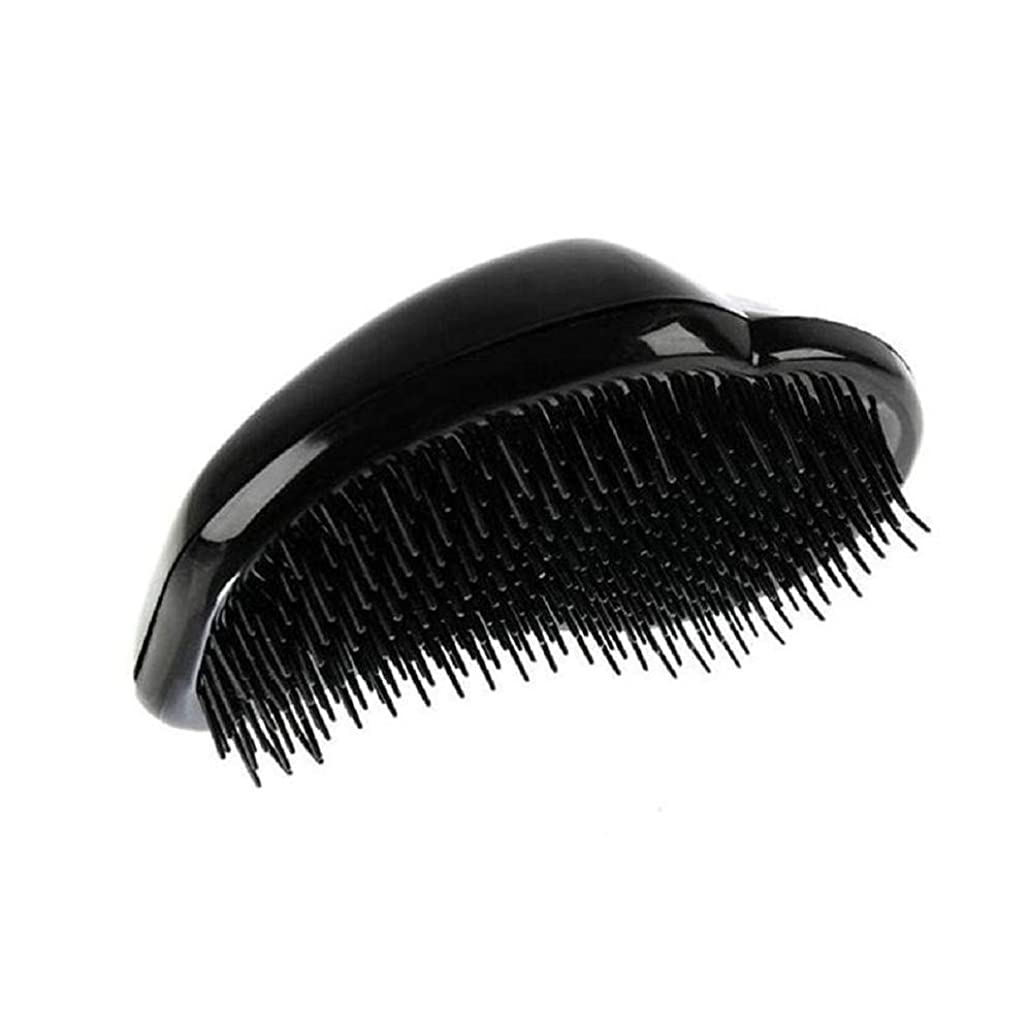 仕方世界の窓アデレード1st market 黒のプラスチック製の髪の櫛理髪の櫛の女性のエアバッグの櫛のマッサージの櫛のヘアブラシ帯電防止デタングルの櫛パーフェクト軽量ポケットサイズ1ピース耐久性と便利