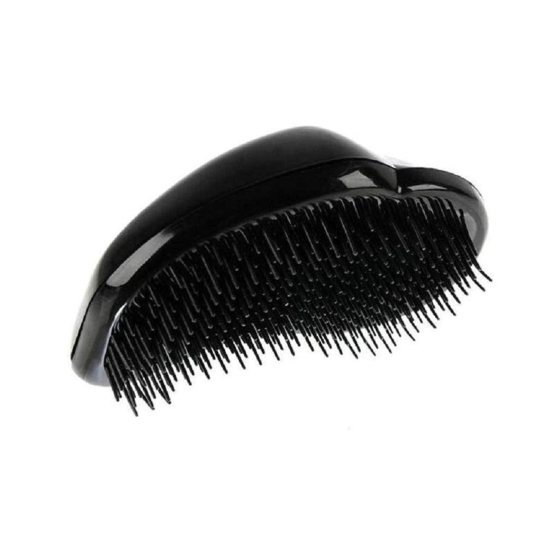 人間はず宝1st market 黒のプラスチック製の髪の櫛理髪の櫛の女性のエアバッグの櫛のマッサージの櫛のヘアブラシ帯電防止デタングルの櫛パーフェクト軽量ポケットサイズ1ピース耐久性と便利
