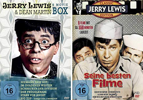 Jerry Lewis Fan Box Collection (12 Filme) [8 DVDs]