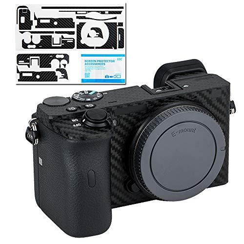 カメラ保護レザーフィルム ソニー Sony A6600 に対応 カメラ3M材料 カーボンファイバ