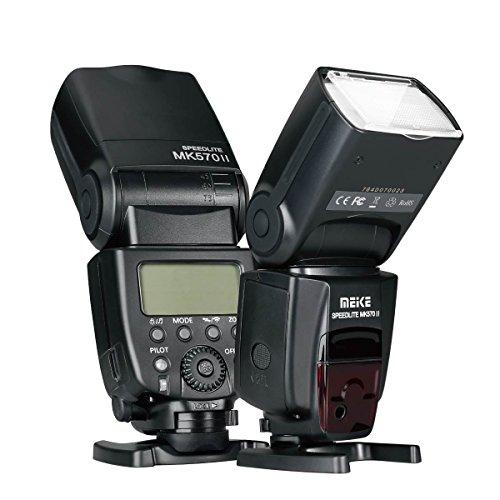 Meike MK570II 2.4G Wireless Master/Slave Manual Flash Speedlite for Canon Nikon Pantax Panasonic Olympus Fujifilm DSLR Mirrorless Cameras