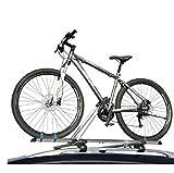 Fischer Fahrradträger Dachträger für 1 Fahrrad Relingträger Mountainbike
