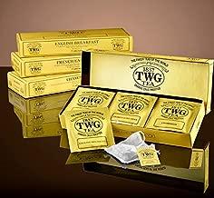 シンガポールの高級紅茶TWGシリーズ(Classic Teabag Selection 3種類×5パック ) ENGLISH BREAKFAST,FRENCH EARL GRAY,CHAMOMILE)並行輸入品