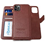 AMOVO Leather Case for iPhone 11 Pro Max (6.5'') [Genuine Leather] iPhone 11...