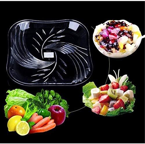 Gedroogde Fruit Pot Mode multifunctionele acryl glazen fruitschaal voedsel (Maat: 35cm)