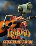 Rango Coloring Book: Interesting, creative coloring book suitable for all ages. – 50+ GIANT Great Pages with Premium Quality Images.