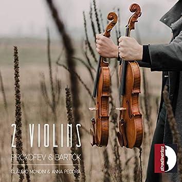 Bartók & Prokofiev: Works for 2 Violins