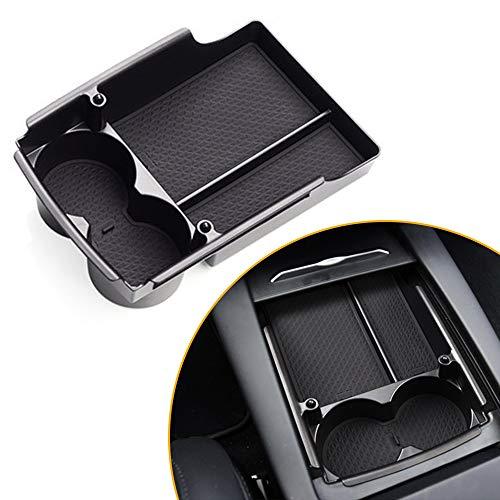 Für T esla Model X/S Aufbewahrungsbox Organizer Armlehne Mittelkonsole Handschuhfach Mit Rutschhemmender Matte Innen Auto Zubehör