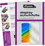 dipos I 2X Schutzfolie klar kompatibel mit Xiaomi Redmi 5 Plus Folie Bildschirmschutzfolie