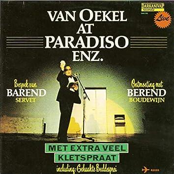 Van Oekel (Live) at Paradiso enz.