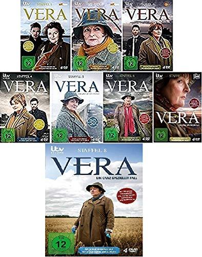 Vera: Ein ganz spezieller Fall - Staffel 1-8 im Set - Deutsche Originalware [32 DVDs]