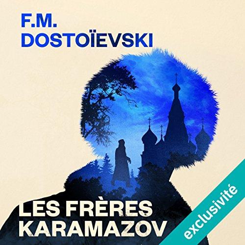 Les Frères Karamazov audiobook cover art