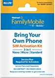 Walmart Family Mobile Sim Kit