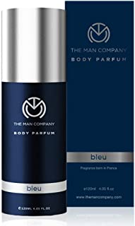 The Man Company Body Perfume For Men - Bleu   No Gas Deodorant   Long Lasting Fragrance   Body Spray For Men - 120ml