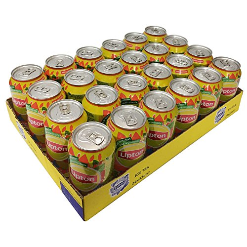 Lipton Ice Tea Peach 24x0,33l Dosen (Pfirsich Eistee) NL