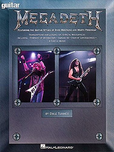 Megadeth - Guitar School: Featuring the Guitar Styles of Dave Mustaine and...
