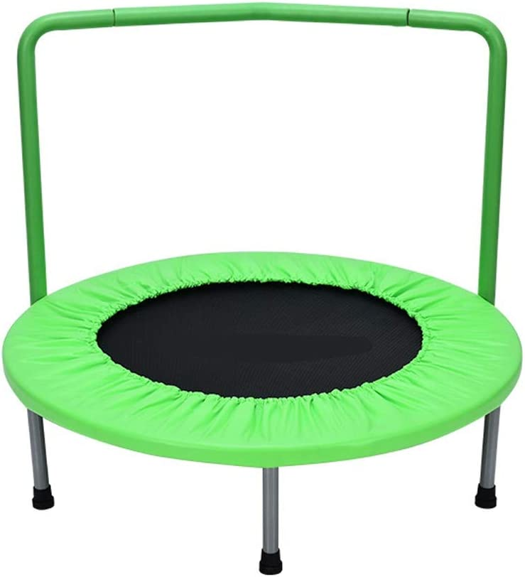 Children's Trampoline with Armrest Kids Super Excellence sale Adult Fitness Bed Bounce