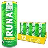 Organic Clean Energy Drink by RUNA, Pineapple Pick Me Up | Refreshing Tea Taste | 10 Calories | Powerful Natural Caffeine | Healthy Energy & Focus | No Crash or Jitters | 12 Oz (Pack of 12)