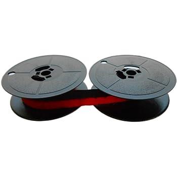 schwarz//rot für Olivetti Lettera 32 Gr.8 Farbbandfabrik Original Farbband