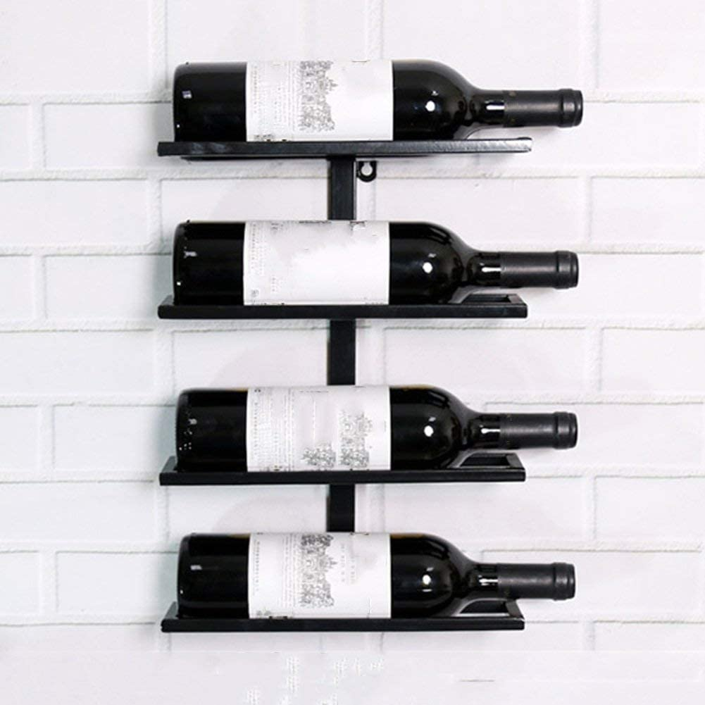 LSN Wine Rack Wall New product type Hanging 2 3 4 5 Iron 8 7 Bottles 6 Holder A 9 Today's only
