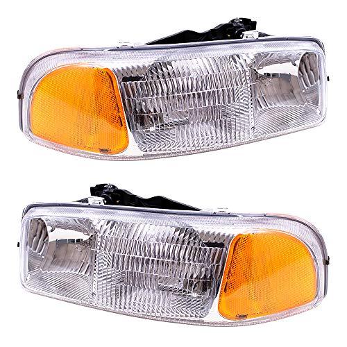 02 gmc sierra headlight assembly - 8