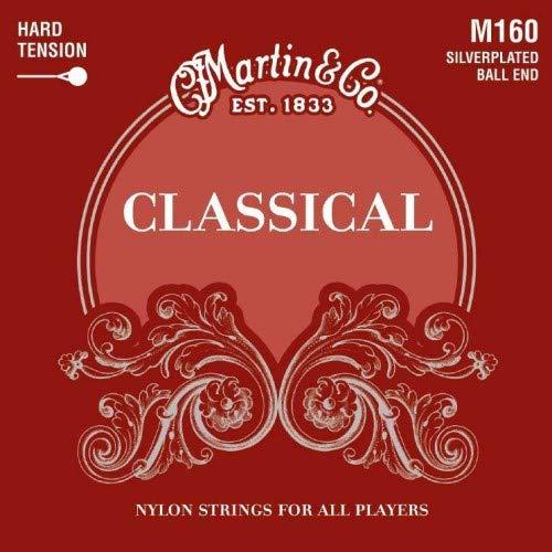 Martin Guitars M160 Silverplated/Ballend f. Konzertgitarre
