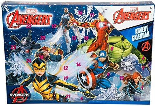 BARGAINS-GALORE Marvel Avengers Advent Kalender ÜBERRASCHUNG Weihnachten Weihnachten Kinder Fun AKTIVITÄT Puzzle
