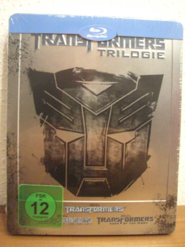 Transformers Trilogie (Steelbook) [Blu-ray]